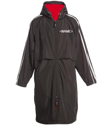 Sporti Striped Comfort Fleece-Lined Swim Parka Youth