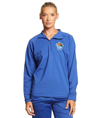 SwimOutlet Sport-Tek®Women's Sport-Wick®Stretch 1/2-Zip Pullover