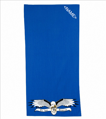 Diplomat Terry Velour Beach Towel 30