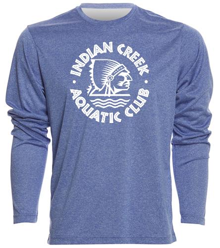 SwimOutlet Men's Long Sleeve Tech T Shirt