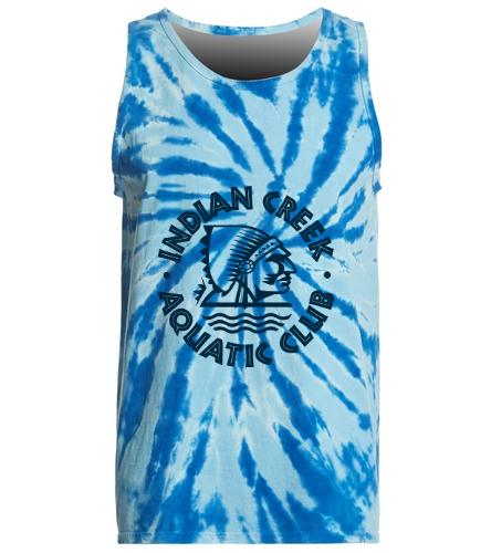 SwimOutlet Tie-Dye Tank Top