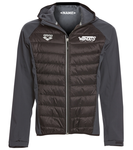 Arena Unisex Team Line Quilted Soft Shell Jacket