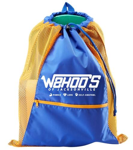 Sporti Premium Color Block Mesh Backpack