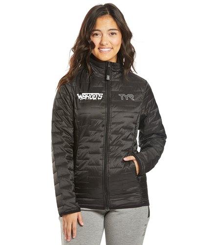 TYR Women's Elite Team Puffers Jacket