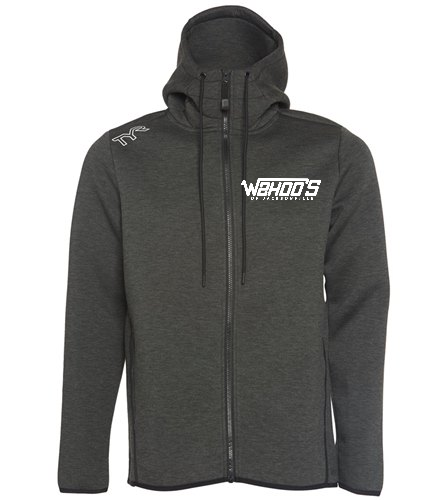 TYR Men's Elite Team Full Zip Hoodie