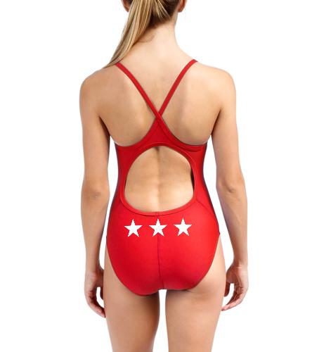 TYR Women's TYReco Solid Diamondfit One Piece Swimsuit