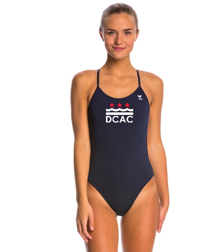TYR Solid Cutoutfit One Piece Swimsuit