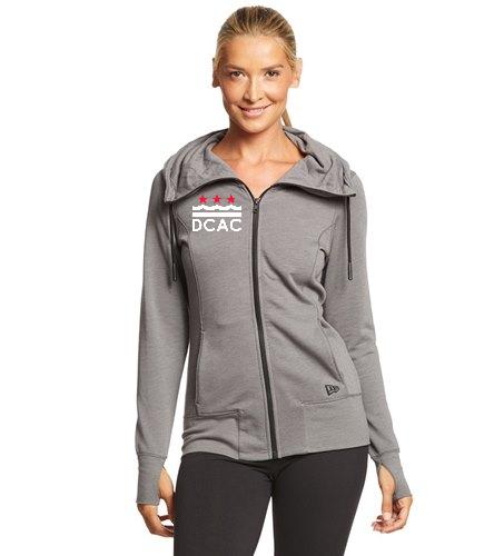 SwimOutlet New Era® Women's Tri-Blend Fleece Full-Zip Hoodie