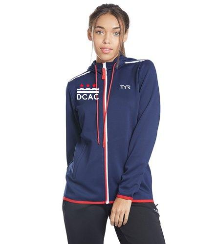 TYR Women's Team Full Zip Hoodie