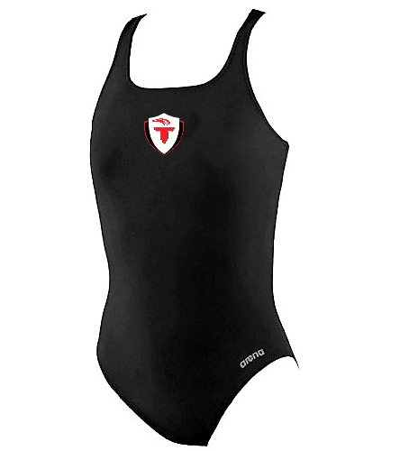 d7e9ab48595 Arena Girls' Madison Athletic Thick Strap Racer Back One Piece Swimsuit ...