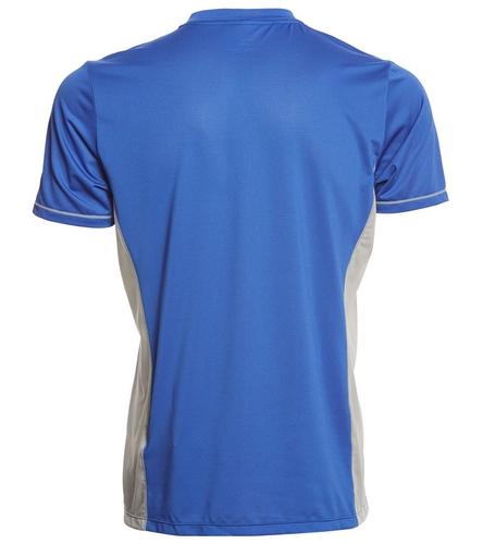 Arena Men's Team Line Crew Neck Short Sleeve Tech T Shirt