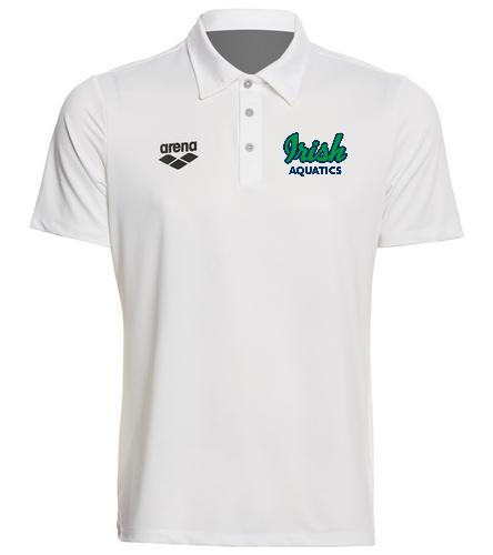 Arena Unisex Team Line Tech Short Sleeve Polo