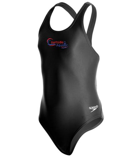 Speedo PowerFLEX Eco Solid Super Pro Youth Swimsuit