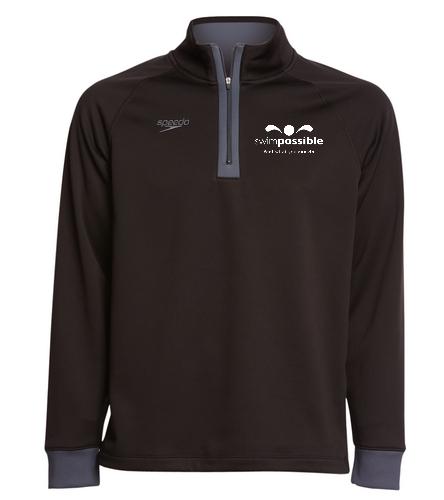 Speedo Unisex 3/4 Zip Sweatshirt
