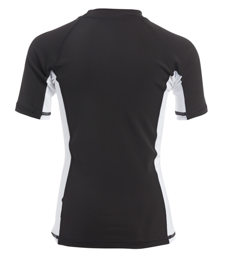 Sporti Youth Unisex S/S UPF 50+ Sport Fit Rash Guard