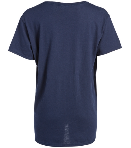 SwimOutlet Women's Cotton V-Neck T-Shirt