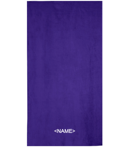 Royal Comfort Terry Velour Beach Towel 32
