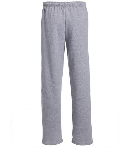 SwimOutlet Heavy Blend Unisex Adult Open Bottom Sweatpants