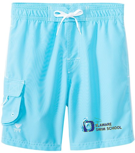 TYR Boys' Solid Challenger Swim Short (Toddler, Little Kid, Big Kid)