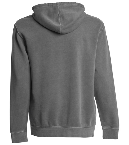 SwimOutlet Unisex Midweight Pigment Dyed Hooded Sweatshirt