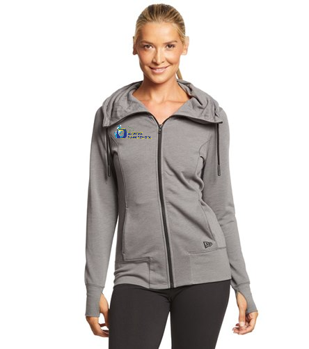SwimOutlet New Era® Women's Tri-Blend Fleece Full-Zip Hoodie