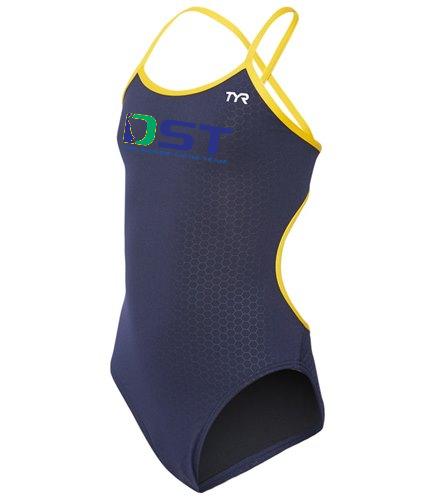 TYR Girls' Hexa Trinityfit One Piece Swimsuit