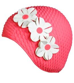 Creative Sunwear Floral Decorations on Bubble Cap