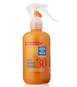 Kiss My Face Sunspray Lotion SPF 30 8oz
