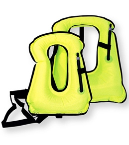 ScubaMax Yellow Adult Snorkeling Vest