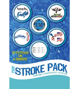H2O-Toos Stroke Pack-Assorted Color