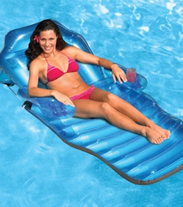 Poolmaster Adjustable Chaise Floating Pool Lounge