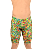 Illusions Dino Jam Red/Green Jammer Swimsuit
