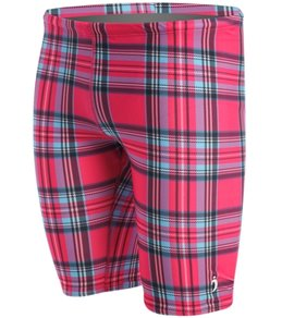 Illusions Plaid Love and Happiness Jammer Swimsuit