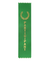 Participant Place Stock Award Ribbon