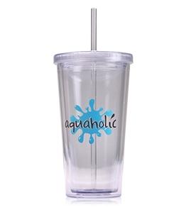 Bay Six Aquaholic Stadium Cup 20oz-Clear