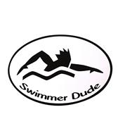 Bay Six Swimmer Dude Black/White Decal