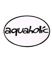 Bay Six Aquaholic Black/White Decal