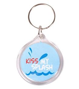 Bay Six Kiss My Splash Blue Key Ring