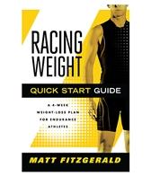 Racing Weight Quick Start Guide Book by Matt Fitzgerald