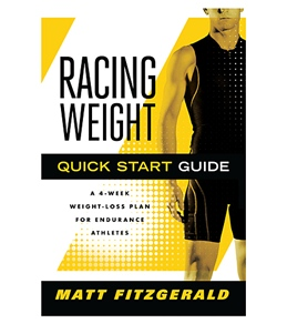 Racing Weight Quick Start Guide Book by Matt Fitzgerald