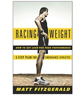 Racing Weight Book by Matt Fitzgerald