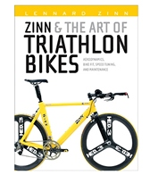Zinn & the Art of Triathlon Bikes Book by Lennard Zinn