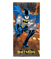 JP Imports Batman In City Beach Towel