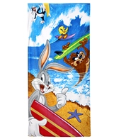 JP Imports Looney Tunes Surf Beach Towel