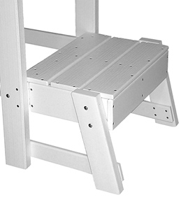 Tailwind Platform Kit for Recycled Plastic Lifeguard Chair