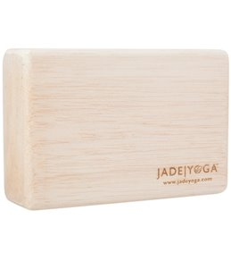 Jade Yoga Balsa Superlight Block Small 11oz Wood Yoga Block