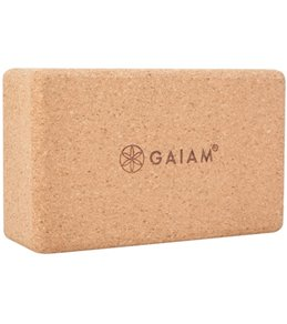 Gaiam Cork Yoga Block