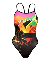 Turbo New Jamaica Black One Piece Swimsuit