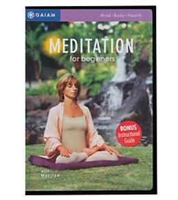 Gaiam Meditation For Beginners DVD