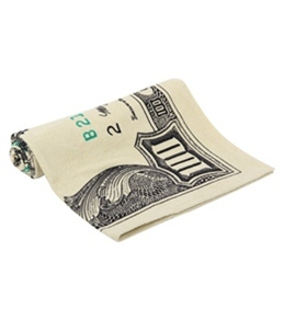 Kaufman Sales 100 Dollar Bill Beach Towel 30 x 60